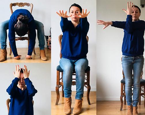 Faire du Yoga au bureau - Marie Brouet