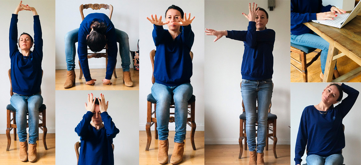 Pourquoi faire du Yoga au bureau - Marie Brouet